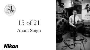 Portrait Anant Singh