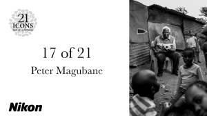 Portrait Peter Magubane
