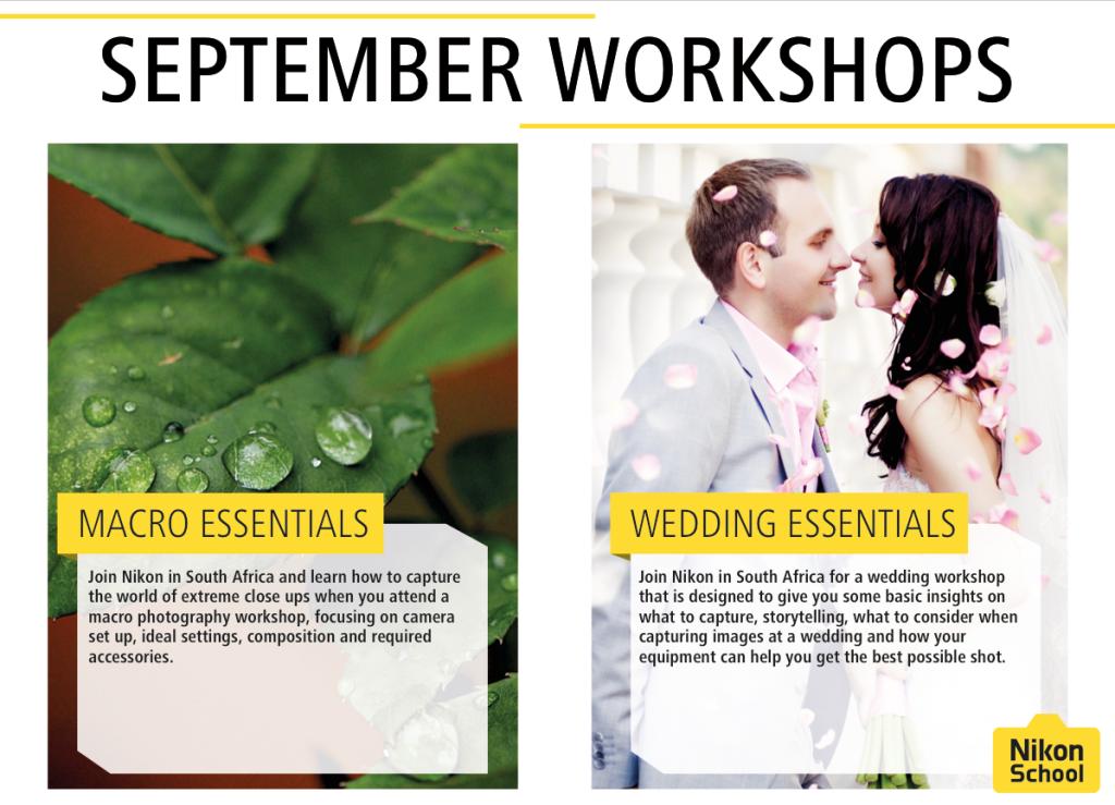 September workshops