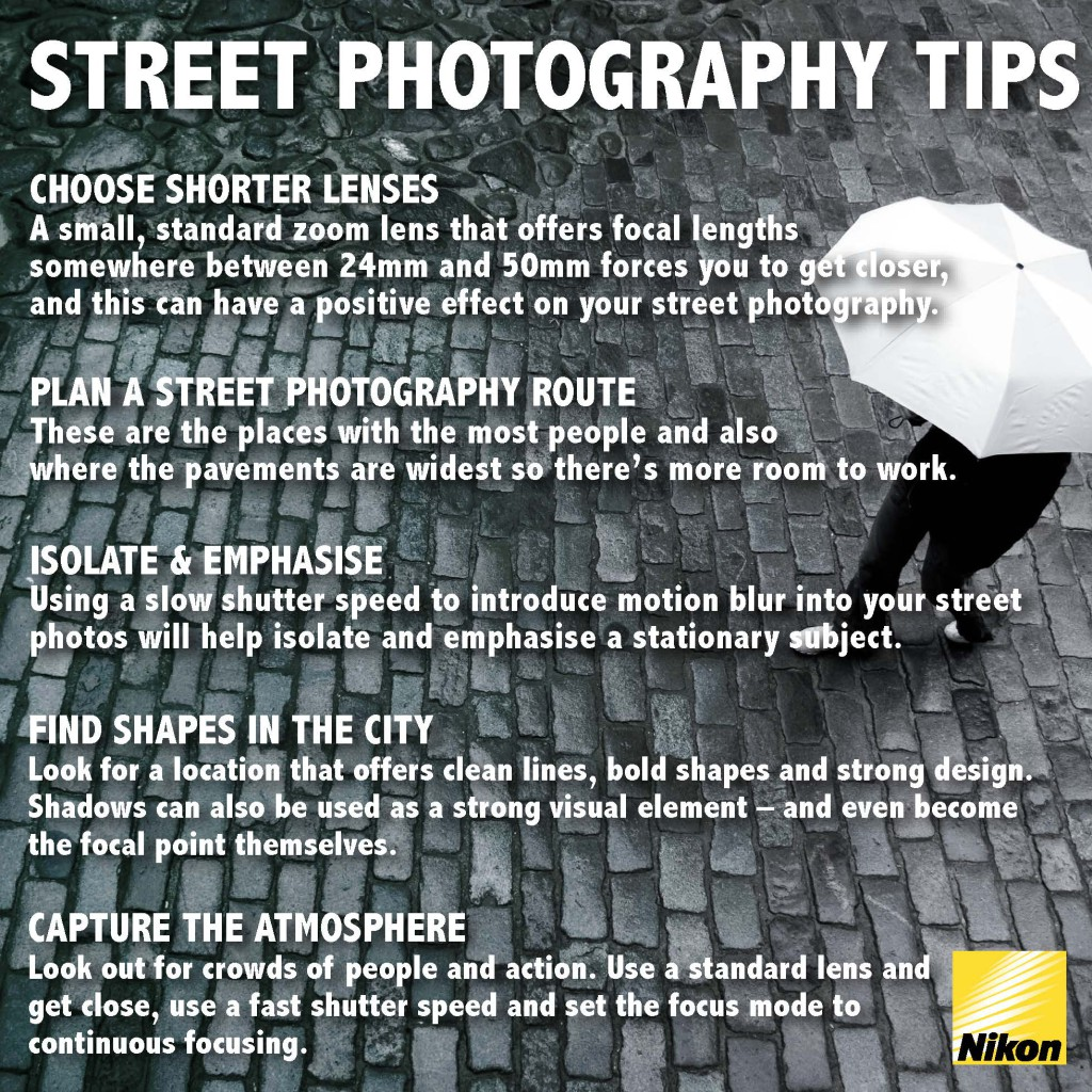 street photography infographic