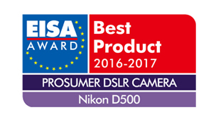 EISA BEST PRODUCT D500