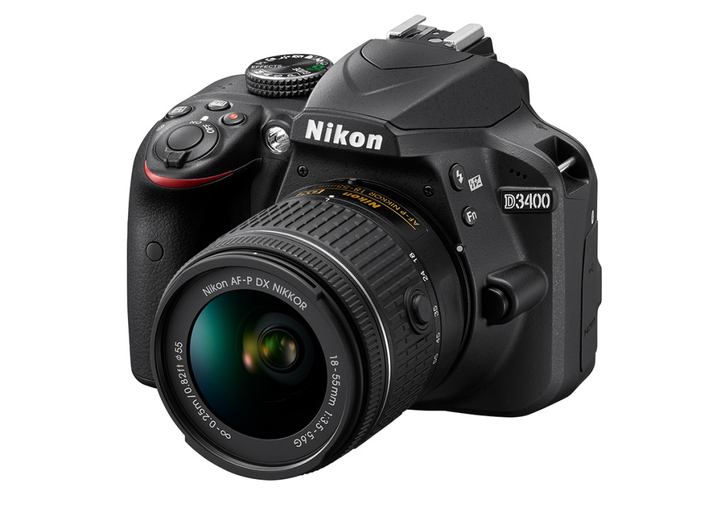 nikon-digital-slr-d3400-side-top