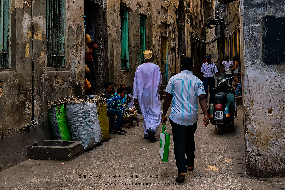 Shot from the hip, Stone Town, Zanzibar
